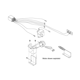 Amana PTAC Power Door Kit