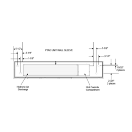 Amana PTAC Hydronic Heat Kit