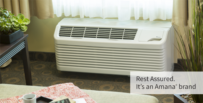 amana ptac heating and air conditioning solutions amana packaged terminal air conditioners